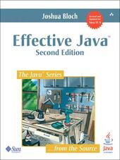 Effective Java<sup>TM</sup>