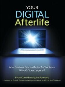Ebook in inglese Your Digital Afterlife Carroll, Evan , Romano, John