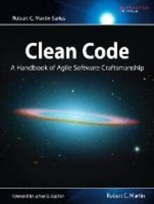 Clean Code: A Handbook of Agile Software Craftsmanship - Robert Martin - cover