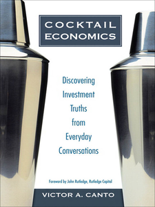 Ebook in inglese Cocktail Economics Canto, Victor A.