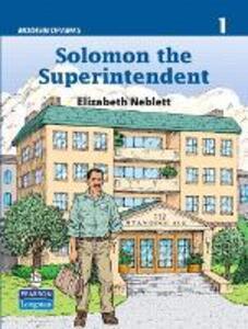 Solomon the Superintendent (Modern Dramas 1) - Elizabeth R. Neblett - cover