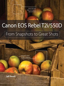 Foto Cover di Canon EOS Rebel T2i / 550D, Ebook inglese di Jeff Revell, edito da Pearson Education