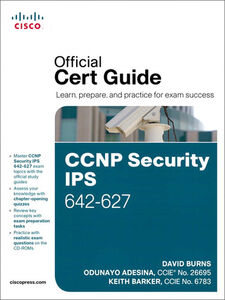 Ebook in inglese CCNP Security IPS 642-627 Official Cert Guide Adesina, Odunayo , Barker, Keith , Burns, David