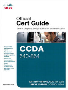 Ebook in inglese CCDA 640-864 Official Cert Guide Bruno, Anthony , Jordan, Steve