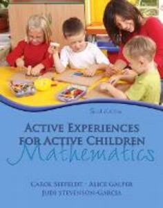 Active Experiences for Active Children: Mathematics - Carol Seefeldt,Alice Galper,Judi Stevenson-Garcia - cover