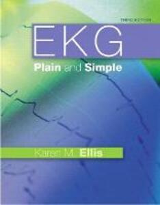 EKG Plain and Simple - Karen M. Ellis - cover