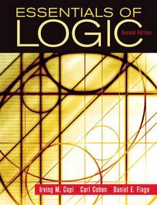 Essentials of Logic - Irving M. Copi,Carl Cohen,Daniel E. Flage - cover