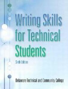 Writing Skills for Technical Students - Delaware Technical and Community College - cover