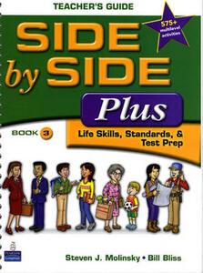 Side by Side Plus 3 Teacher's Guide - Steven J. Molinsky,Bill Bliss - cover