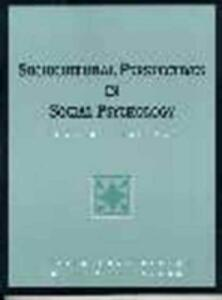 Sociocultural Perspectives in Social Psychology: Current Readings - Letitia Anne Peplau,Shelley E. Taylor - cover