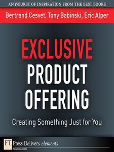 Ebook in inglese Exclusive Product Offering Alper, Eric , Babinski, Tony , Cesvet, Bertrand