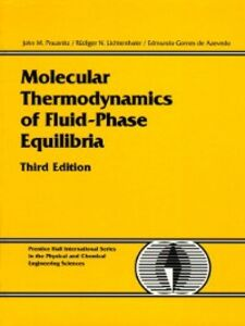 Foto Cover di Molecular Thermodynamics of Fluid-Phase Equilibria, Ebook inglese di AA.VV edito da Pearson Education