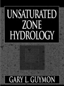Ebook in inglese Unsaturated Zone Hydrology Guymon, Gary L.