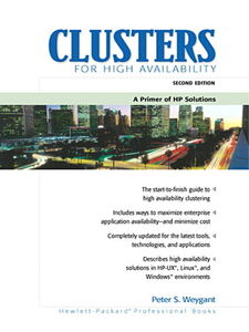 Ebook in inglese Clusters for High Availability Weygant, Peter S.