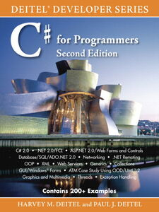 Foto Cover di C# for Programmers, Ebook inglese di Harvey M. Deitel,Paul Deitel, edito da Pearson Education