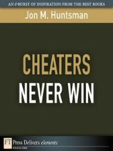Ebook in inglese Cheaters Never Win Huntsman, Jon