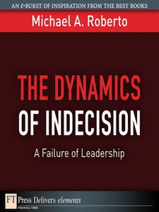 Ebook in inglese The Dynamics of Indecision Roberto, Michael A.