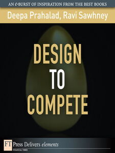 Ebook in inglese Design to Compete Prahalad, C.K.