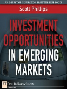 Ebook in inglese Investment Opportunities in Emerging Markets Phillips, Scott