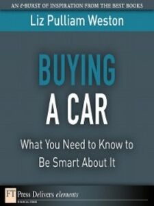 Ebook in inglese Buying a Car Weston, Liz