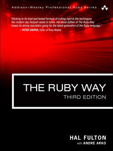 Ebook in inglese The Ruby Way Arko, André , Fulton, Hal