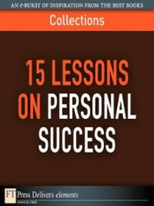 Ebook in inglese 15 Lessons on Personal Success FT Press Delivers