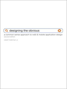 Ebook in inglese Designing the Obvious Jr., Robert Hoekman