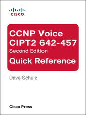 CCNP Voice CIPT2 642-457 Quick Reference