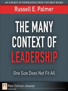 Foto Cover di The Many Context of Leadership, Ebook inglese di Russell E. Palmer, edito da Pearson Education