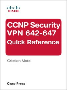 Ebook in inglese CCNP Security VPN 642-647 Quick Reference Matei, Cristian