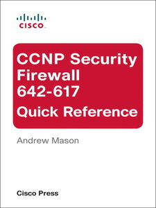 Ebook in inglese CCNP Security Firewall 642-617 Quick Reference Mason, Andrew