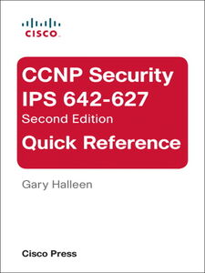 Ebook in inglese CCNP Security IPS 642-627 Quick Reference Halleen, Gary