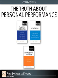 Ebook in inglese The Truth About Personal Performance Gunther, Robert E. , O'Rourke, James , Thompson, Leigh L.