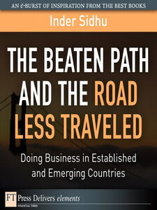 Ebook in inglese The Beaten Path and the Road Less Traveled Sidhu, Inder