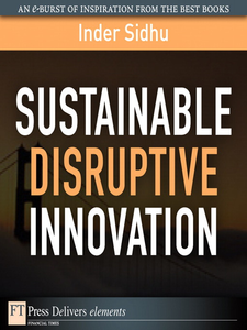 Ebook in inglese Sustainable Disruptive Innovation Sidhu, Inder