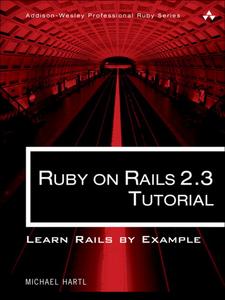 Ebook in inglese Ruby on Rails™ 2.3 Tutorial Hartl, Michael