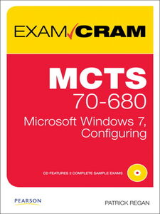 Foto Cover di MCTS 70-680 Exam Cram, Ebook inglese di Patrick Regan, edito da Pearson Education