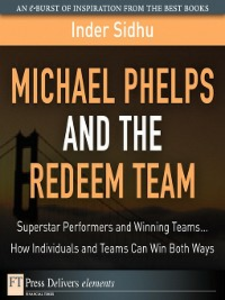 Ebook in inglese Michael Phelps and the Redeem Team Sidhu, Inder