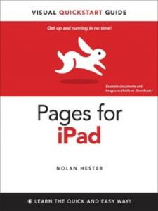 Ebook in inglese Pages for iPad Hester, Nolan