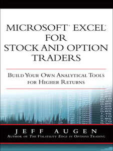 Ebook in inglese Microsoft Excel for Stock and Option Traders Augen, Jeff