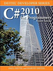 Foto Cover di C# 2010 for Programmers, Ebook inglese di Harvey M. Deitel,Paul Deitel, edito da Pearson Education