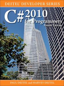 Ebook in inglese C# 2010 for Programmers Deitel, Harvey M. , Deitel, Paul