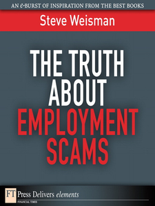 Ebook in inglese The Truth About Employment Scams Weisman, Steve