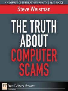 Ebook in inglese The Truth About Computer Scams Weisman, Steve