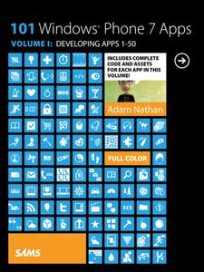 Ebook in inglese 101 Windows Phone 7 Apps, Volume 1 Nathan, Adam
