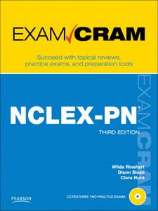 Ebook in inglese NCLEX-PN Exam Cram Hurd, Clara , Rinehart, Wilda , Sloan, Diann