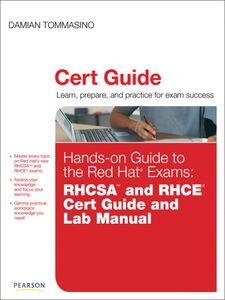 Foto Cover di Hands-on Guide to the Red Hat Exams, Ebook inglese di Damian Tommasino, edito da Pearson Education