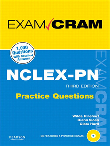 Ebook in inglese NCLEX-PN Practice Questions Exam Cram Hurd, Clara , Rinehart, Wilda , Sloan, Diann