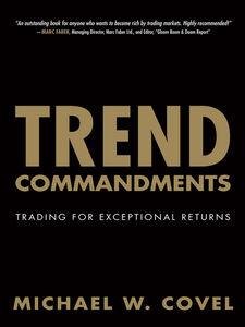 Ebook in inglese Trend Commandments Covel, Michael W.