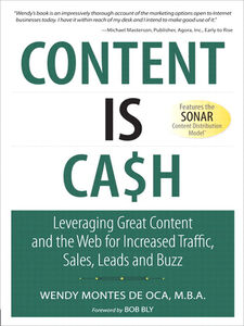 Foto Cover di Content is Cash, Ebook inglese di Wendy Montes de Oca, edito da Pearson Education